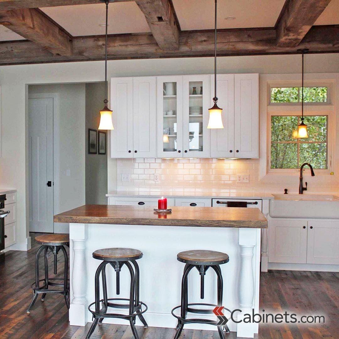 Creating A Modern Farmhouse Kitchen Cabinets Com
