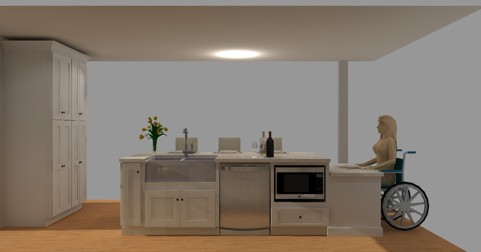Creating An Ada Compliant Kitchen Cabinets Com