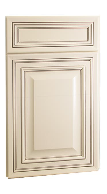 Bronson Maple Antique White Chocolate Glaze Kitchen Cabinets Cabinets Com