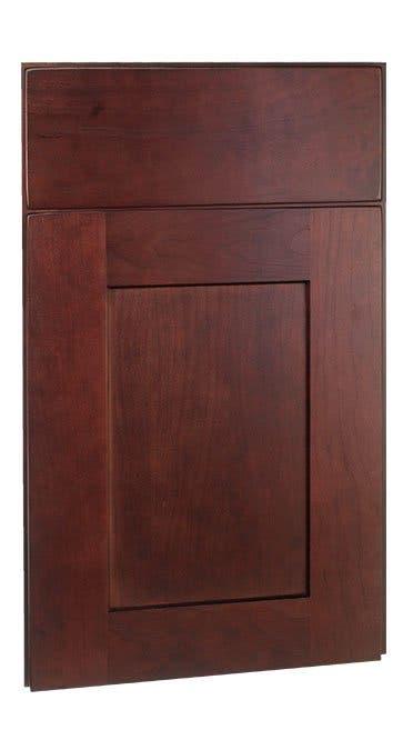 Shaker Cherry Merlot Framed Cabinets   Vanity Cabinets ...