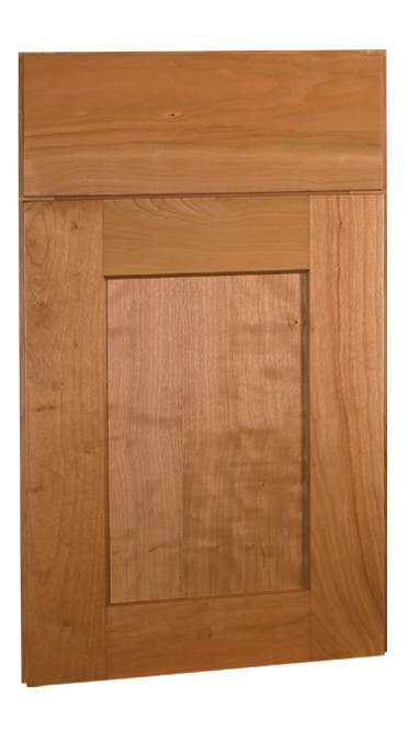 Shaker Cherry Natural Framed Cabinets - Cabinets.com