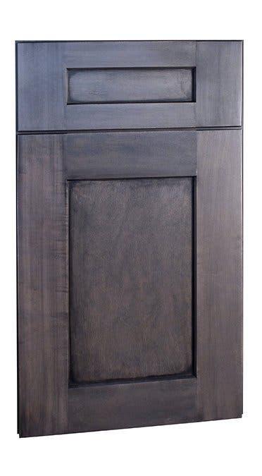 Shaker II Maple Slate Framed Cabinets | Trim & Details ...