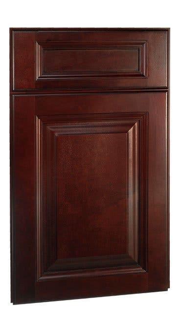 Youngstown Maple Merlot Coffee Glaze Framed Cabinets ...