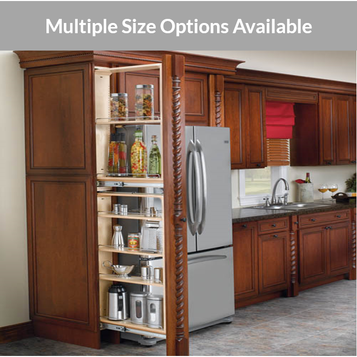 Rev A Shelf Tall Filler Pull Outs With, Slim Kitchen Cabinet