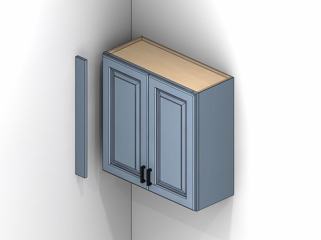 Fillers Why Use Fillers With Cabinetry Cabinets Com