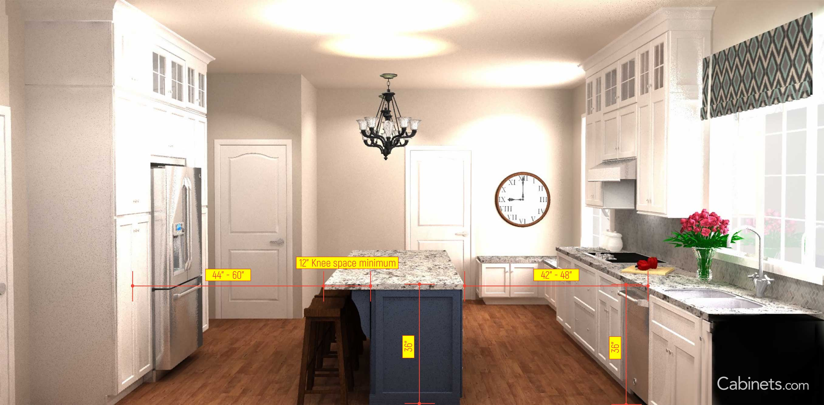 Important Kitchen Dimensions Start Planning Cabinets Com
