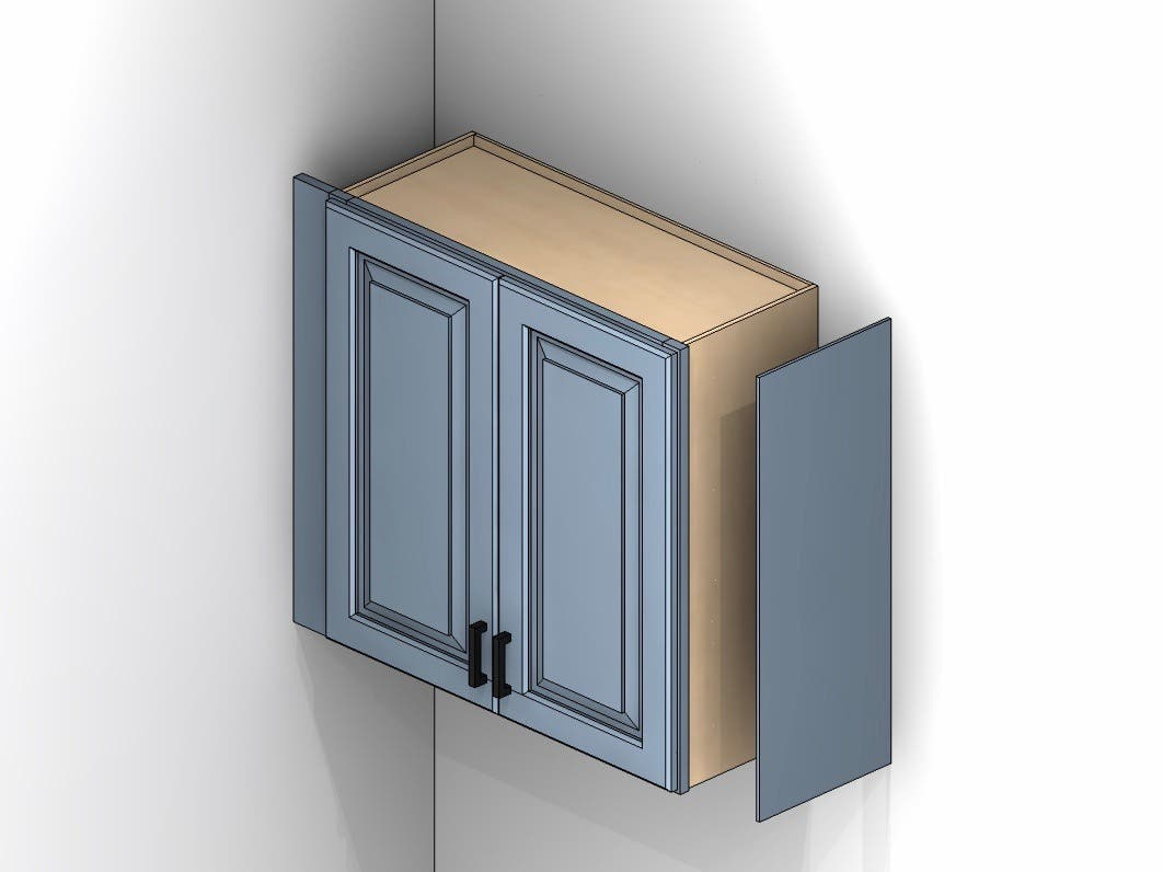 Skin Panels Why Use Skins On Cabinets Cabinets Com