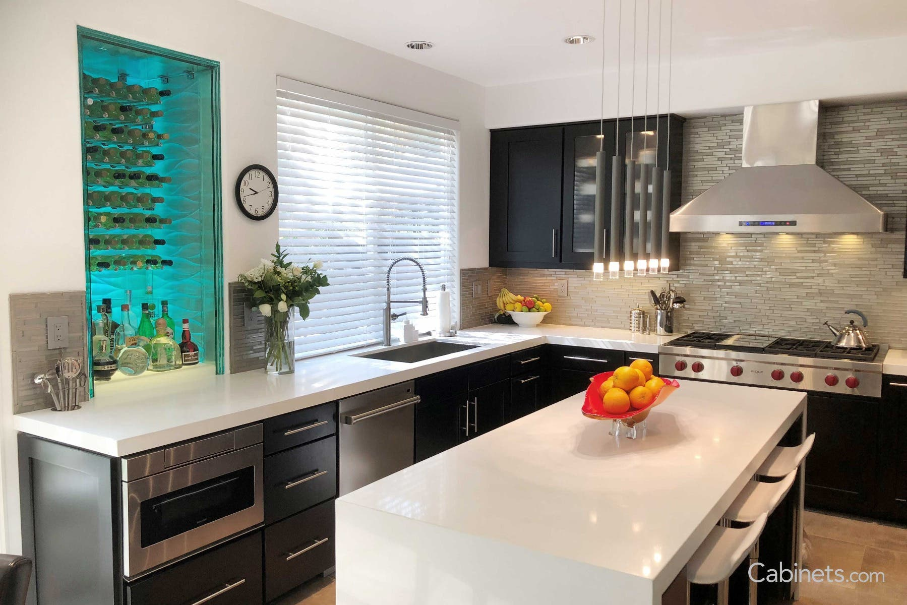 How To Decorate A Modern Style Kitchen Cabinets Com