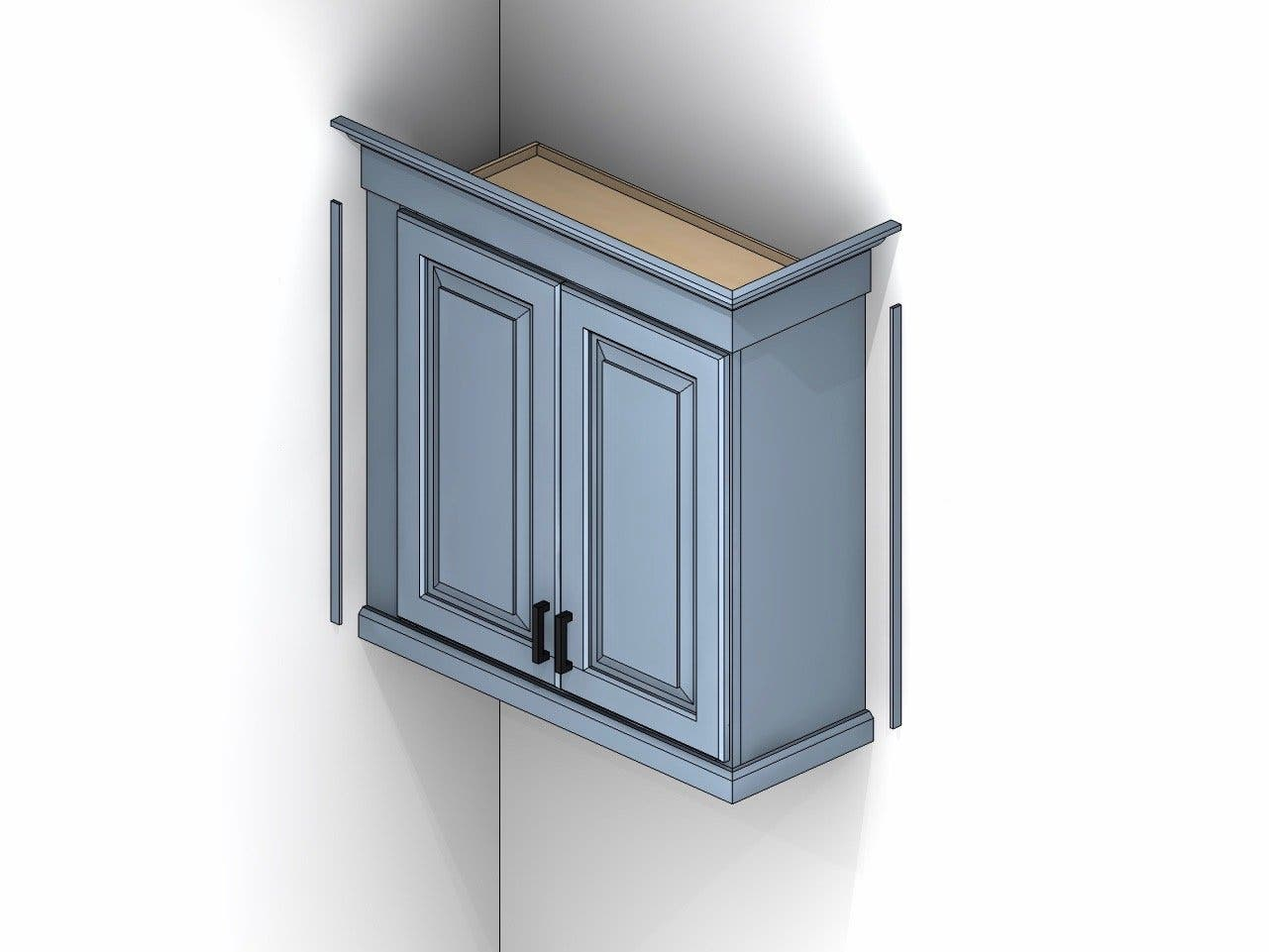 Types of Moldings for Cabinets   Cabinets.com
